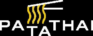 PaTaThai – logo białe